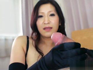 black satin gloves 5