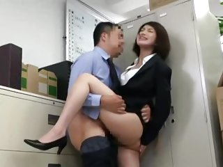 Japanese Office Silent Fucking (my favourite pposition)