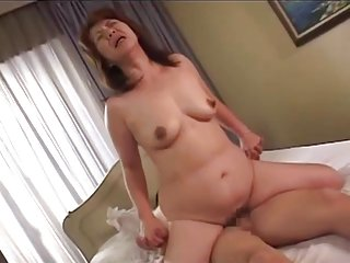 Japanese Mom - Boy used by Step Mom Nami