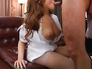 Hotpornslut - Japanese Horny Nurse With Puffy Nipples