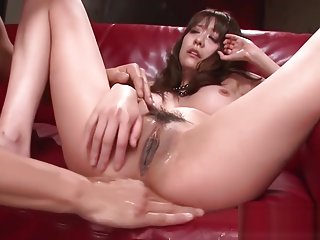 Asian swallows cum in raw threesome action Akari Asagiri inclubporn net